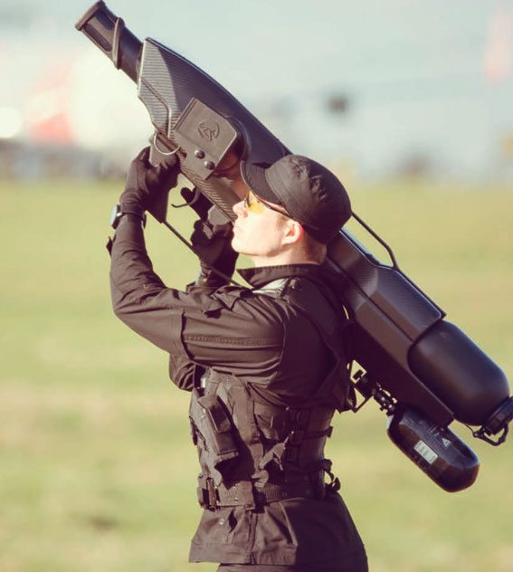 Skywall100 Drone Defense System Captures Uavs Safely