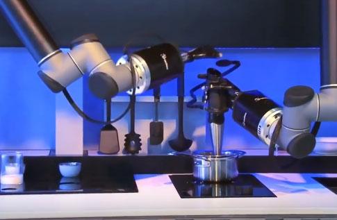 Robotic Kitchen By Moley Robotics Robotic Gizmos