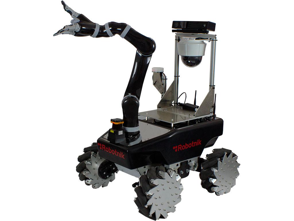 Mobile Manipulator Xl Mico With Mecanum Wheels Robotic