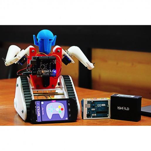 Sheeld ios android shield for arduino robotic gizmos