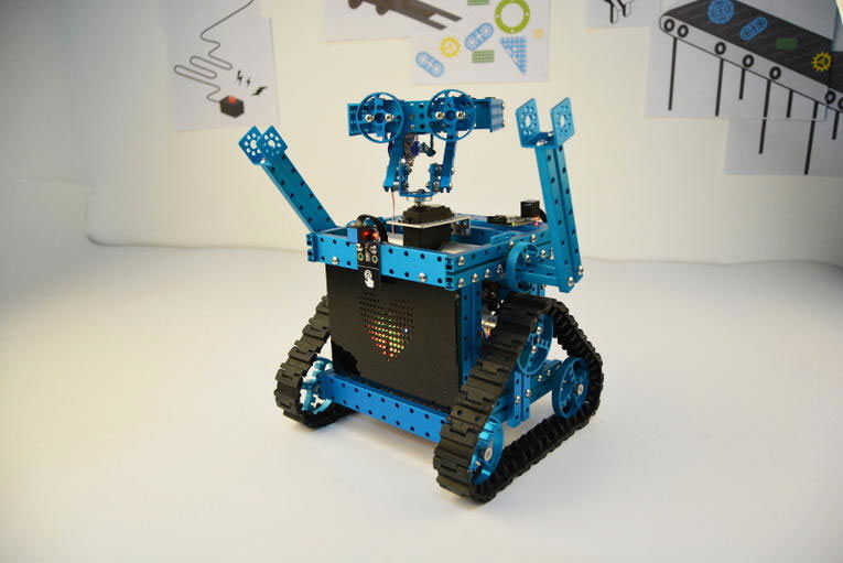 DIY WALL E Robot With Makeblock Parts Robotic Gizmos
