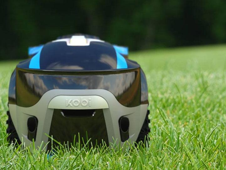 Kobi Modular Autonomous Robot Mows The Lawn Shovels Snow