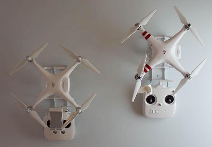 Droneup Wall Mount For Dji Phantom Drones Robotic Gizmos