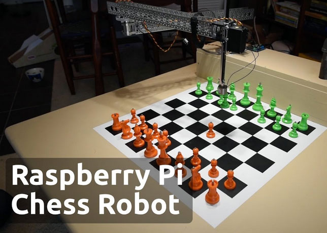 Raspberry Turk Pi Driven Chess Playing Robot Robotic Gizmos