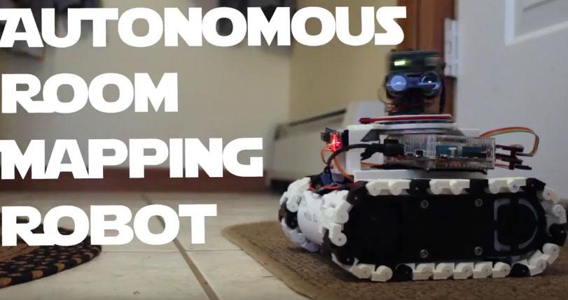 Armr autonomous room mapping robot robotic gizmos