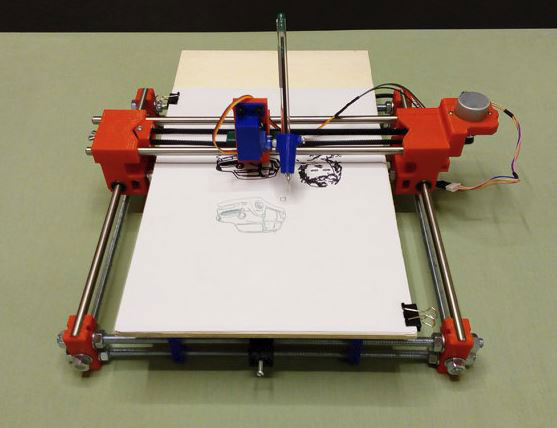 Arduino uno xy plotter drawing robot robotic gizmos