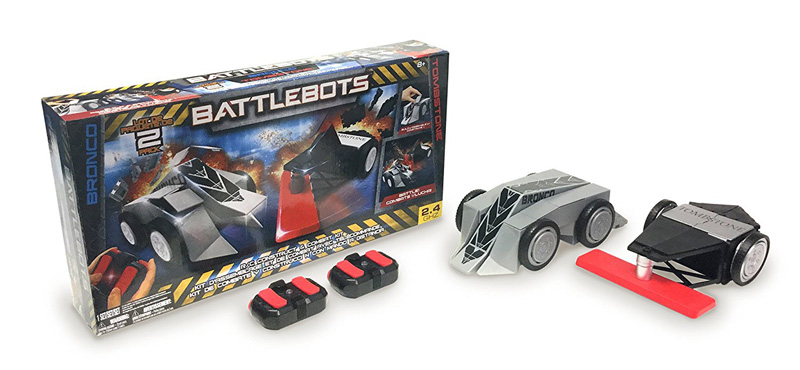 Bronco and Tombstone RC Battlebots