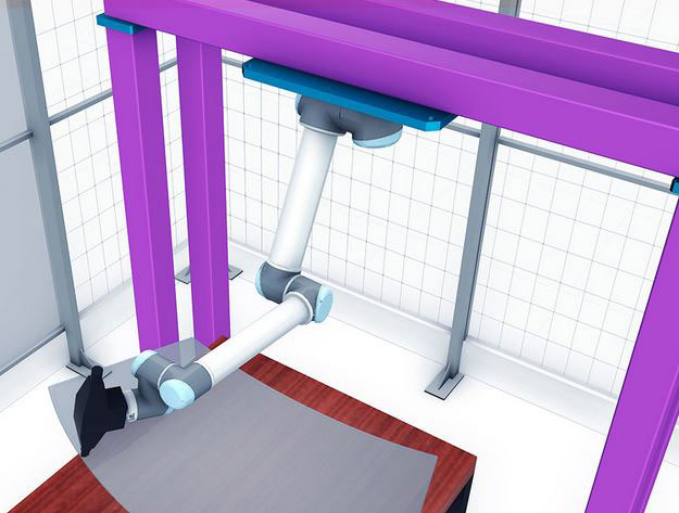 Octopuz offline simulator for universal robots robotic