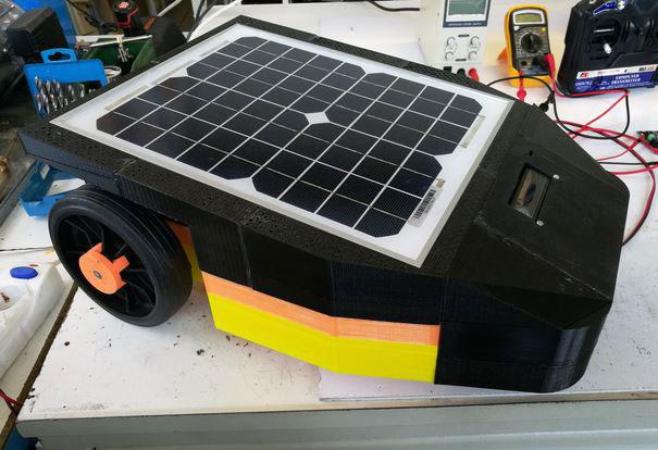 Solar Powered Lawnmower Robot Robotic Gizmos