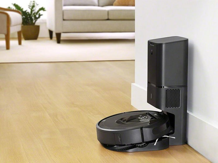 Irobot Roomba I7 Wifi Robot With Auto Dirt Disposal