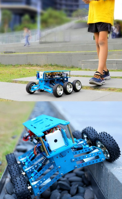 Yahboom 6wd Off Road Arduino Robot Robotic Gizmos