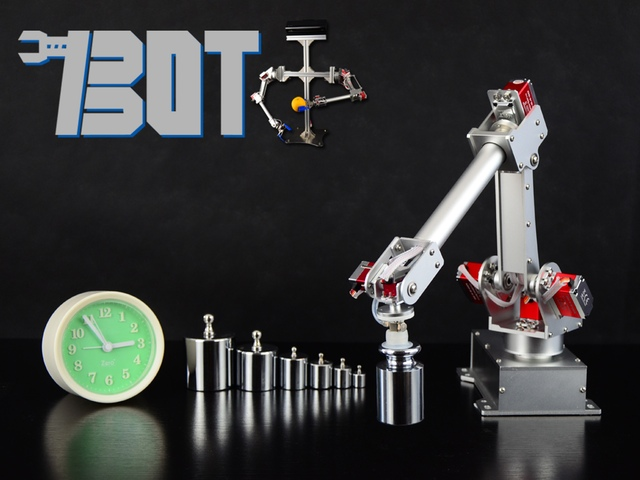 7bot Desktop Robotic Arm For Hackers Amp Inventors