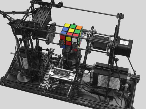 Rubik S Cube Solver W A Raspberry Pi Compute Robotic Gizmos