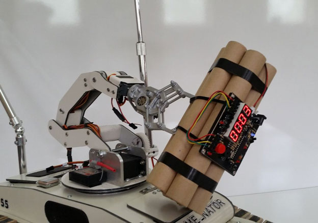 Diy  Bomb Disposal Robot