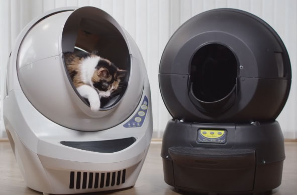 Litter Robot Open Air Self Cleaning Litter Box Robotic