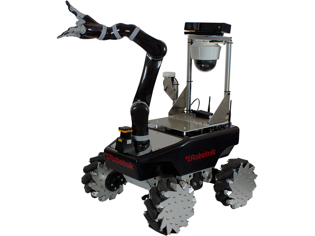 Mobile Manipulator Xl Mico With Mecanum Wheels Robotic