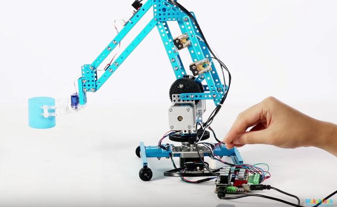 DIY Robotic Arm with Arduino & Gesture Control - Robotic Gizmos