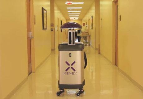 XENEX-Germ-Killing-Robots