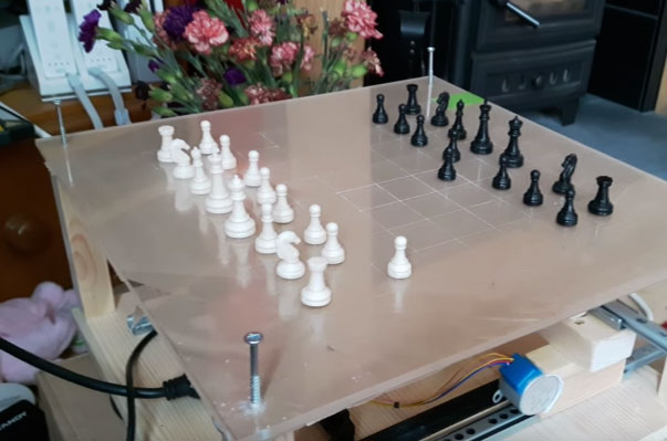 Wizard Chess: Raspberry Pi Chess Robot - Robotic Gizmos