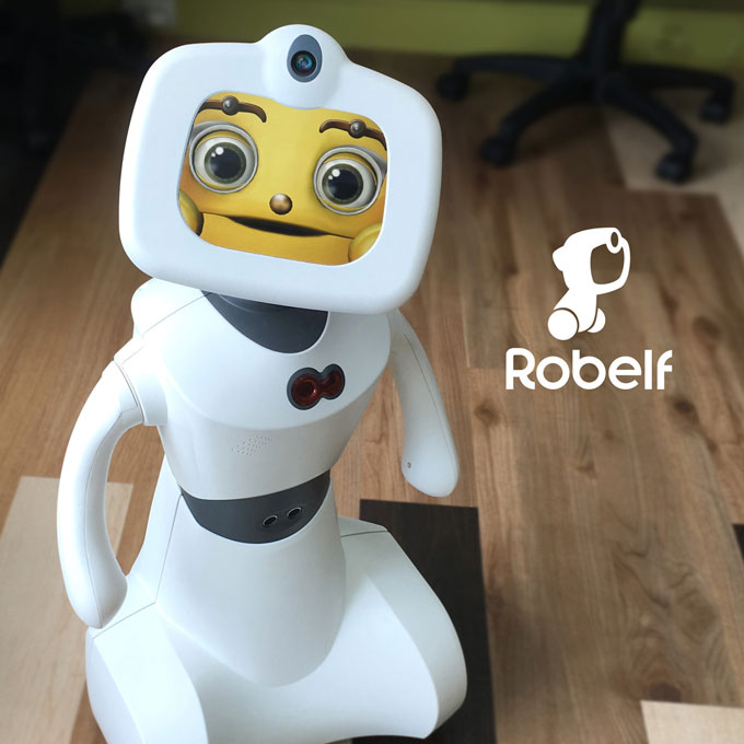 Robelf Multi Camera Home Security Robot Robotic Gizmos