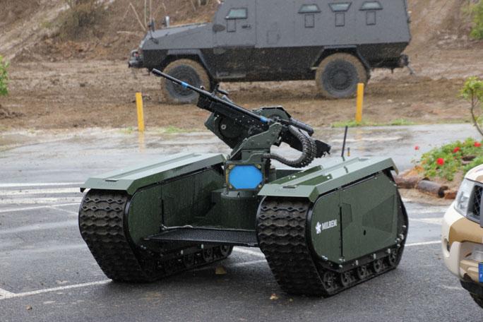 THeMIS ADDER Unmanned Combat Vehicle - Robotic Gizmos