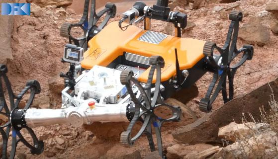 Coyote Iii Micro Rover For Unstructured Terrain Robotic