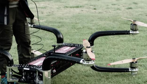 Griff 300 Mega Drone Can Lift 500lbs Robotic Gizmos