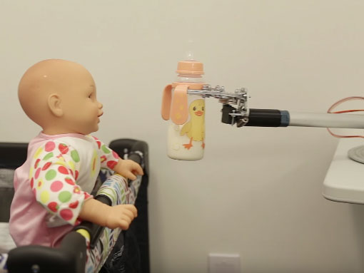 Baby Bottle Robot With Smartphone Control Robotic Gizmos