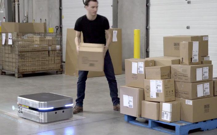 Otto 100 Self Driving Robot Can Carry 100 lbs - Robotic Gizmos