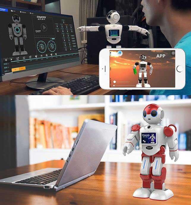 RGKNSE Intelligent Robot with Voice Control - Robotic Gizmos
