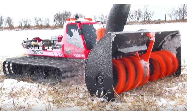 3d Printed Rc Snow Blower Robotic Gizmos