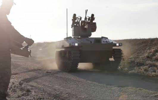 Soratnik Robotic Combat Platform (UGV) - Robotic Gizmos