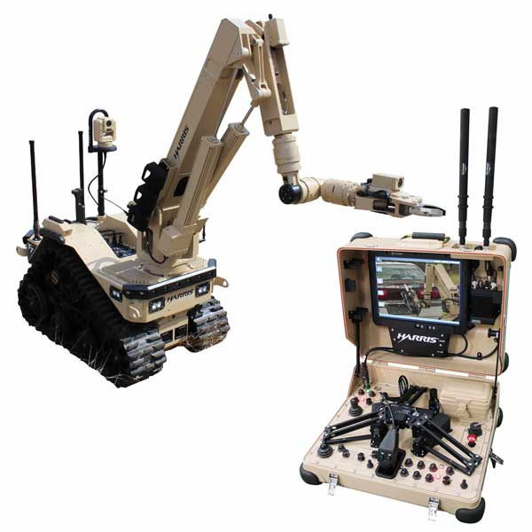 Harris Corporation T7 Multi Mission Rugged Robot For