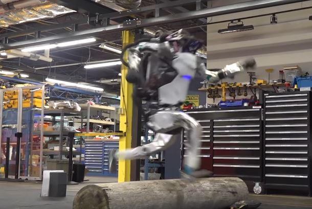 Atlas From Boston Dynamics Does Parkour Robotic Gizmos