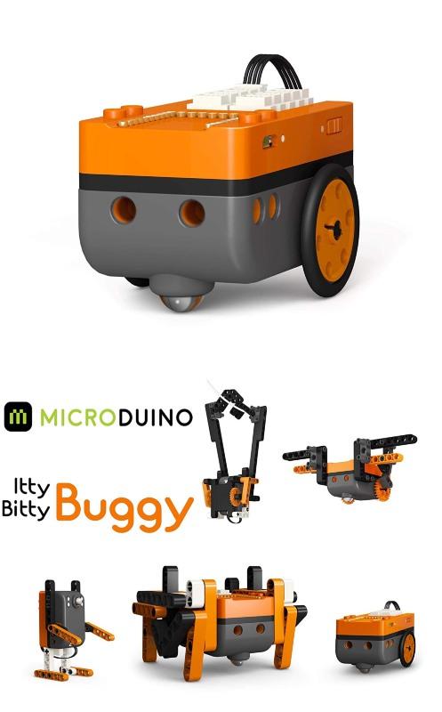 Microduino Itty Bitty Buggy Programmable Robot - Robotic Gizmos