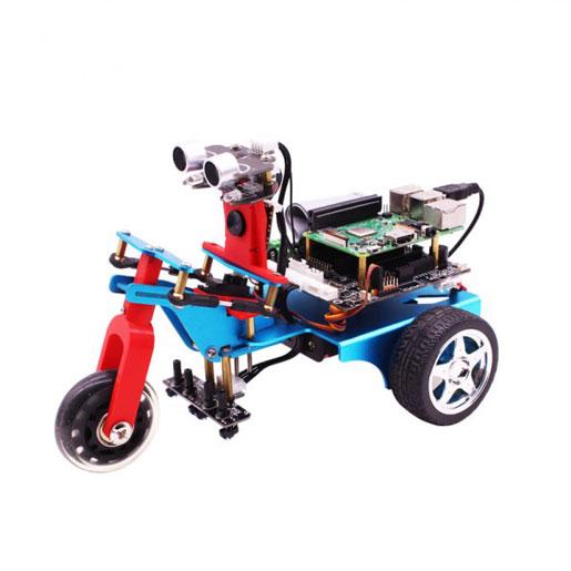TrikeBot Raspberry Pi Robot with Camera - Robotic Gizmos