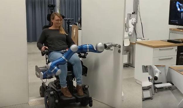 Whole Body Control For Edan Assistive Robot Robotic Gizmos