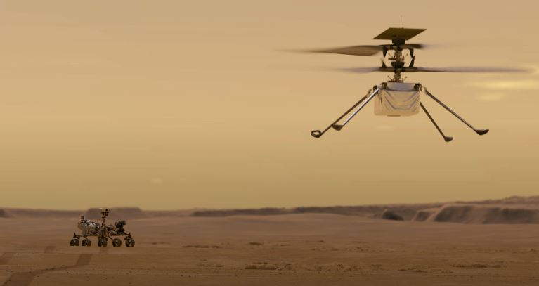 Ingenuity: NASA's Mars Helicopter - Robotic Gizmos